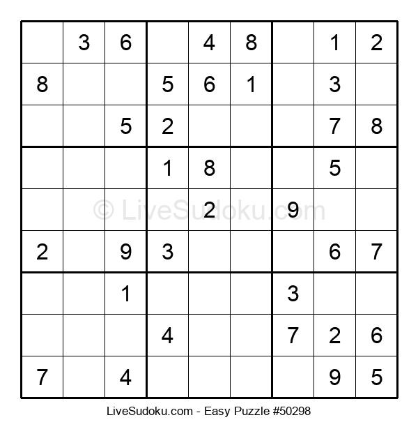 Beginners Puzzle #50298