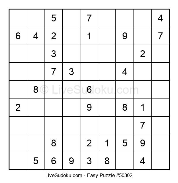 Beginners Puzzle #50302