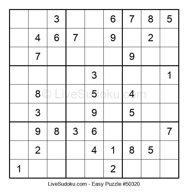 Beginners Puzzle #50320