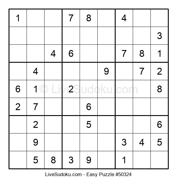 Beginners Puzzle #50324