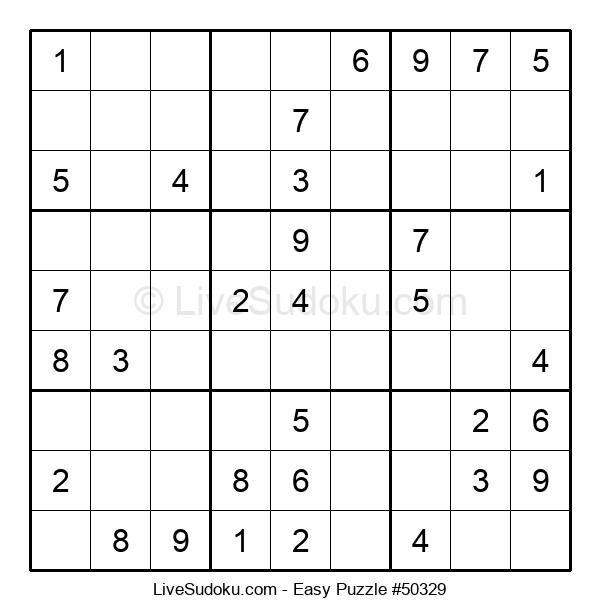 Beginners Puzzle #50329