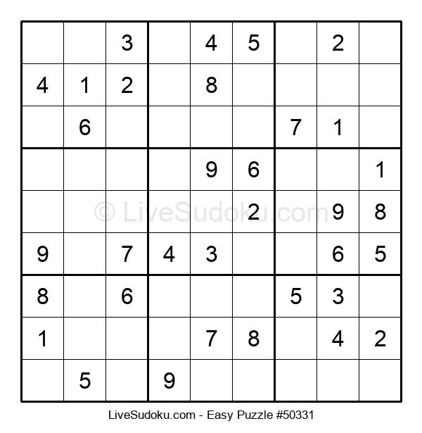 Beginners Puzzle #50331
