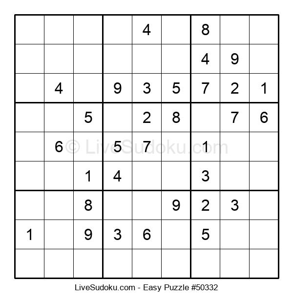 Beginners Puzzle #50332