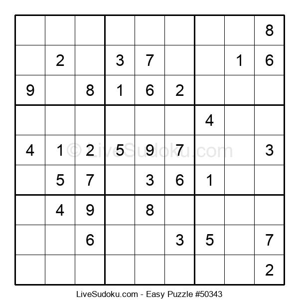 Beginners Puzzle #50343