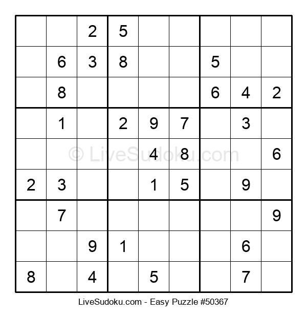 Beginners Puzzle #50367