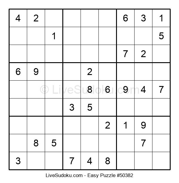 Beginners Puzzle #50382