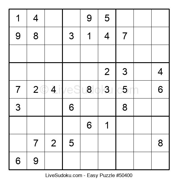 Beginners Puzzle #50400