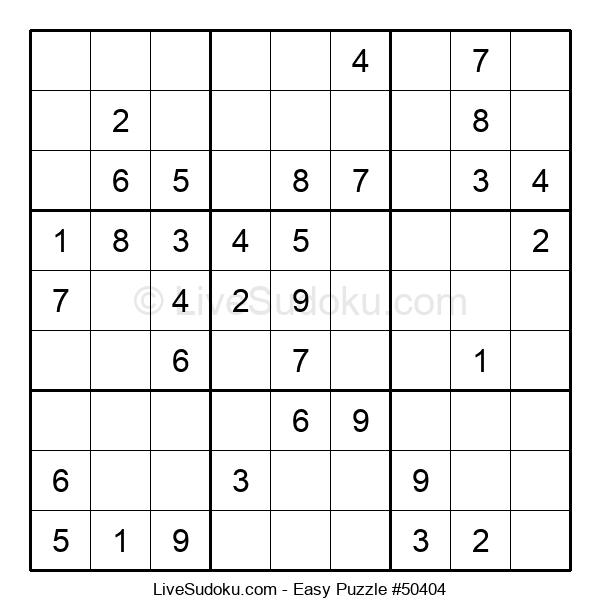 Beginners Puzzle #50404