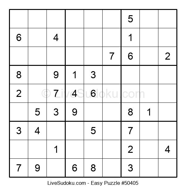 Beginners Puzzle #50405