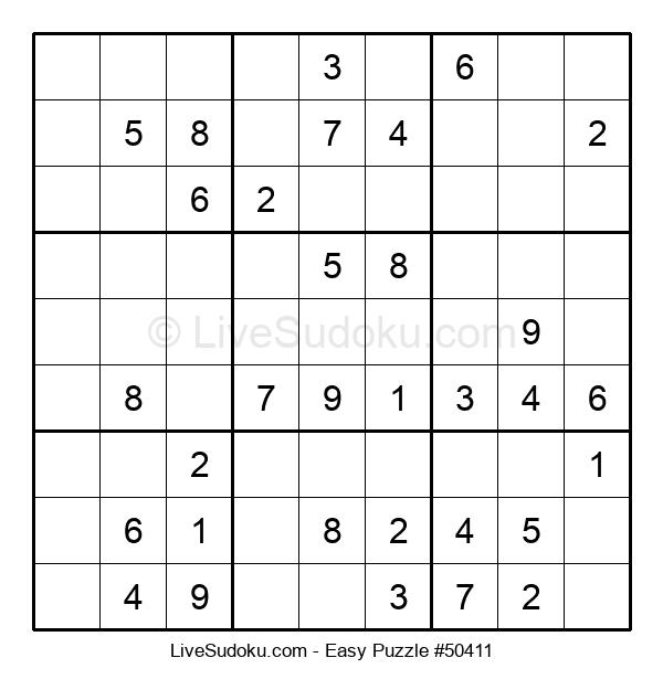 Beginners Puzzle #50411