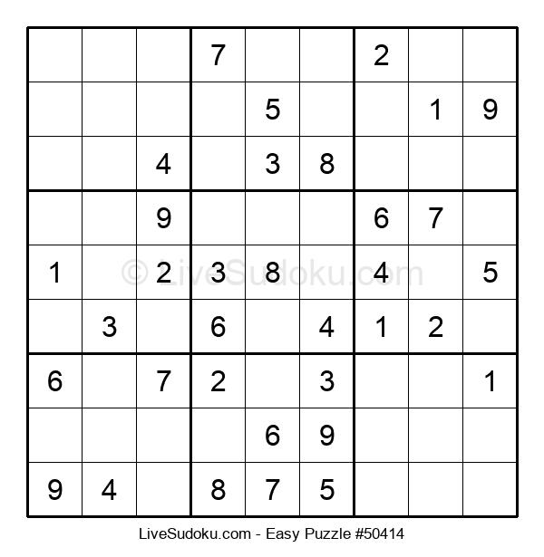 Beginners Puzzle #50414