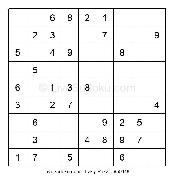 Beginners Puzzle #50418