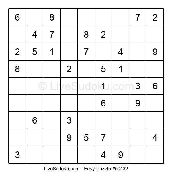 Beginners Puzzle #50432
