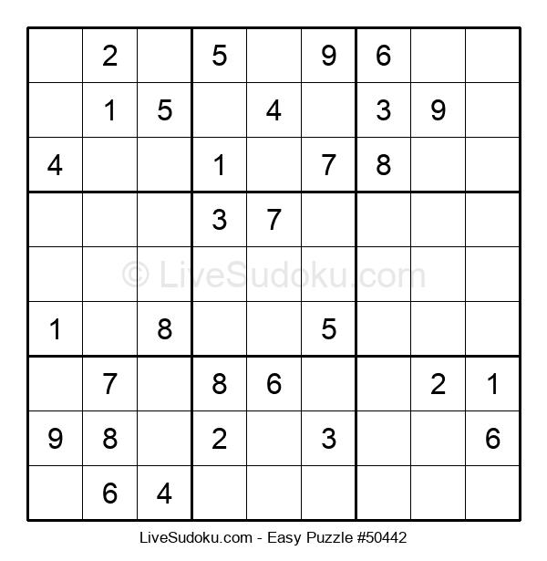 Beginners Puzzle #50442