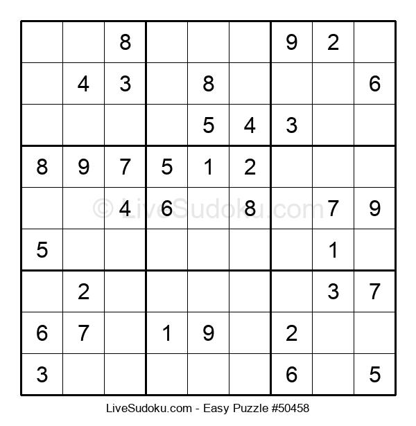 Beginners Puzzle #50458