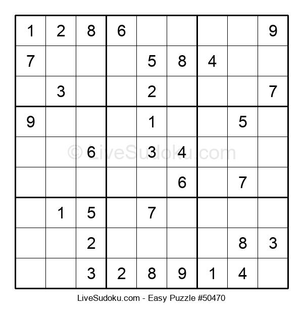 Beginners Puzzle #50470