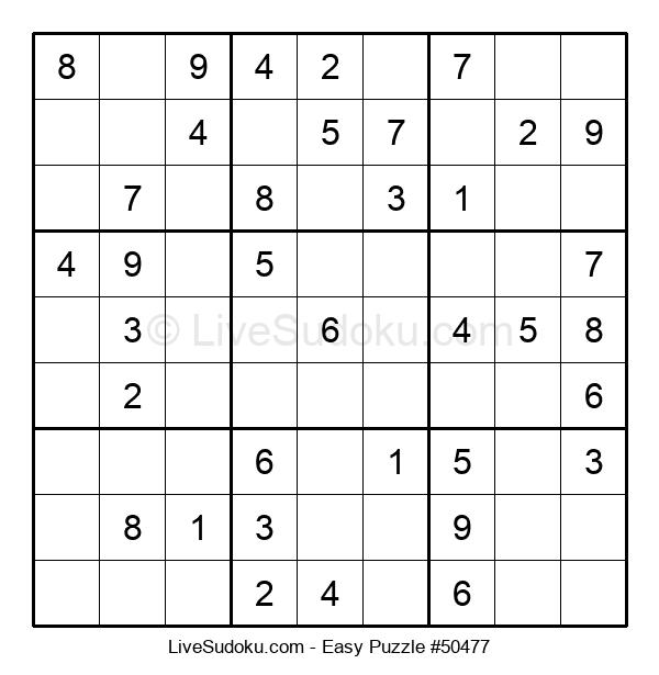 Beginners Puzzle #50477
