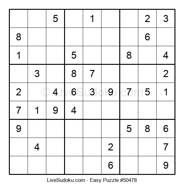 Beginners Puzzle #50478
