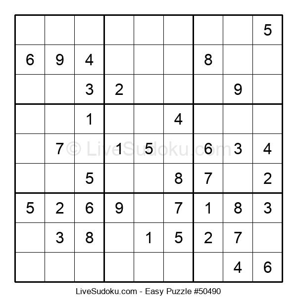 Beginners Puzzle #50490