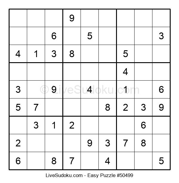 Beginners Puzzle #50499