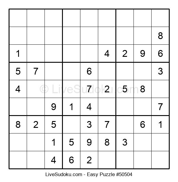 Beginners Puzzle #50504