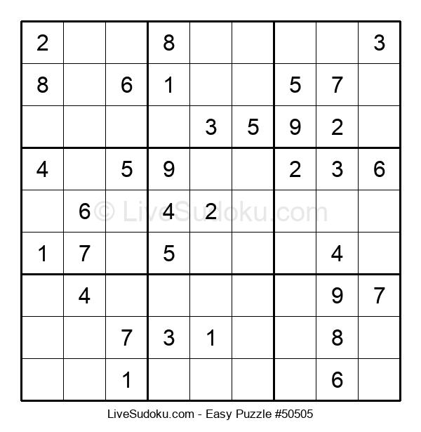 Beginners Puzzle #50505