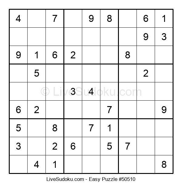 Beginners Puzzle #50510
