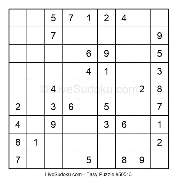 Beginners Puzzle #50513