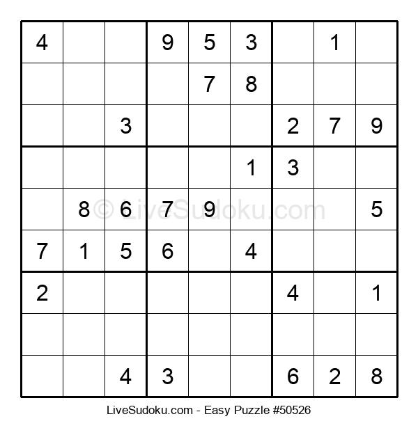 Beginners Puzzle #50526