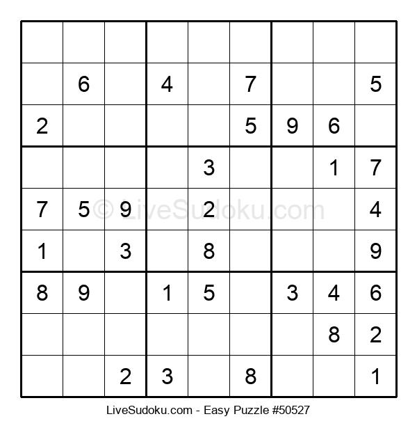 Beginners Puzzle #50527