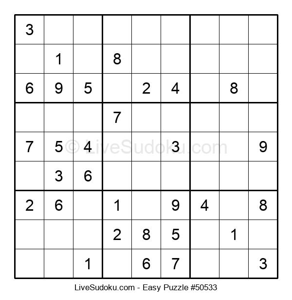 Beginners Puzzle #50533