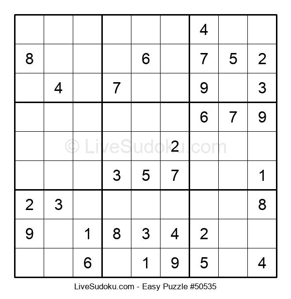 Beginners Puzzle #50535