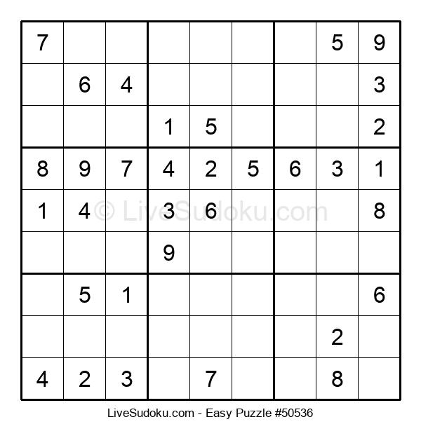 Beginners Puzzle #50536