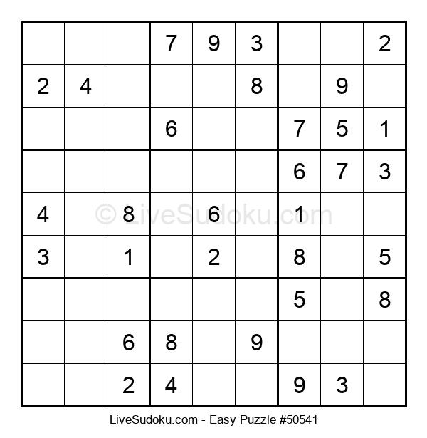 Beginners Puzzle #50541