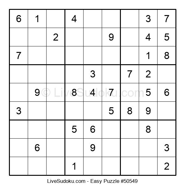 Beginners Puzzle #50549