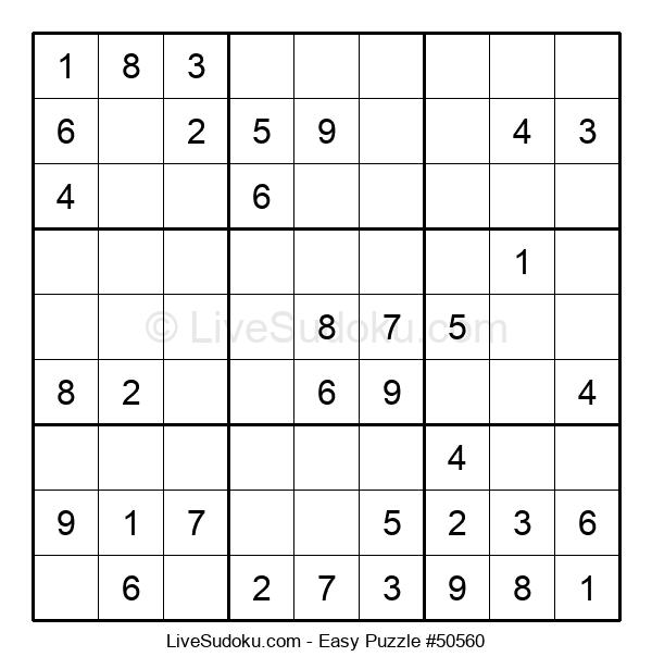 Beginners Puzzle #50560