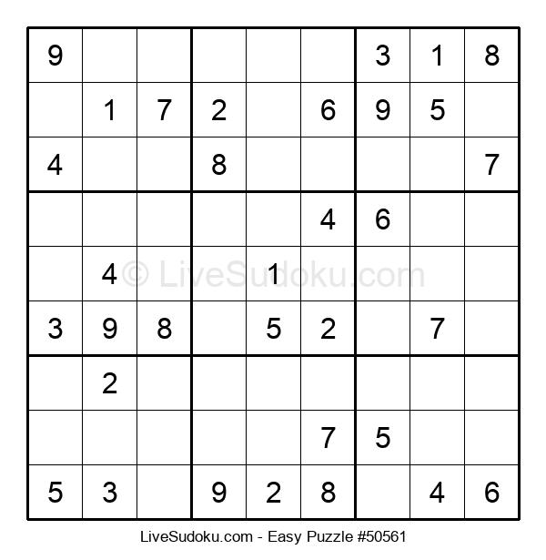 Beginners Puzzle #50561
