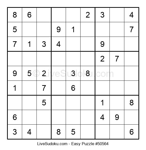 Beginners Puzzle #50564