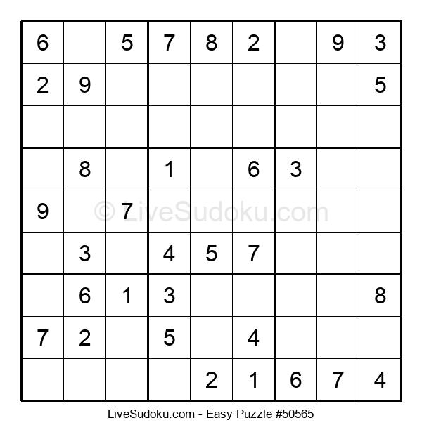 Beginners Puzzle #50565