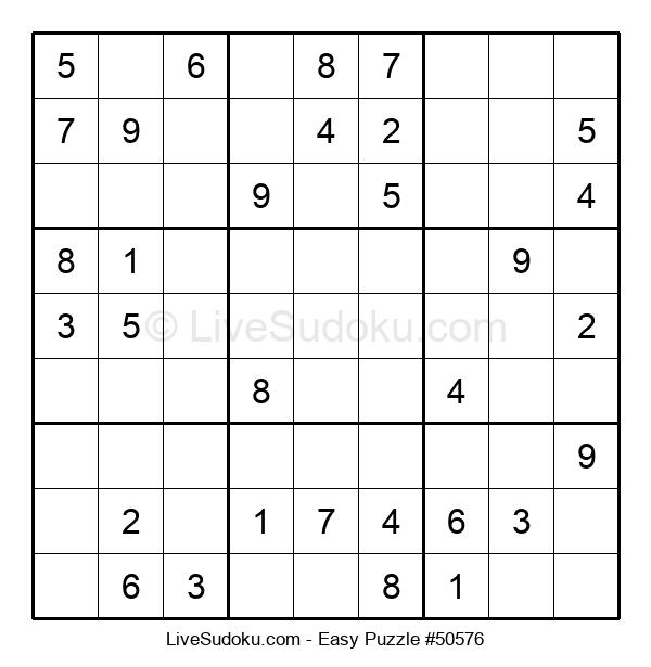 Beginners Puzzle #50576
