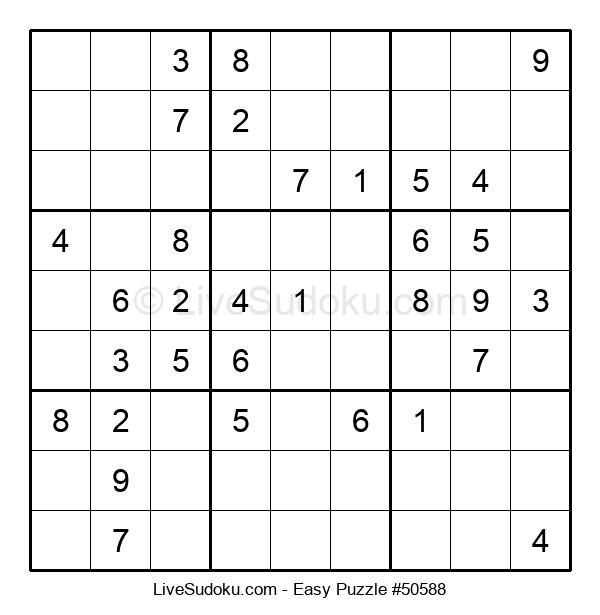 Beginners Puzzle #50588