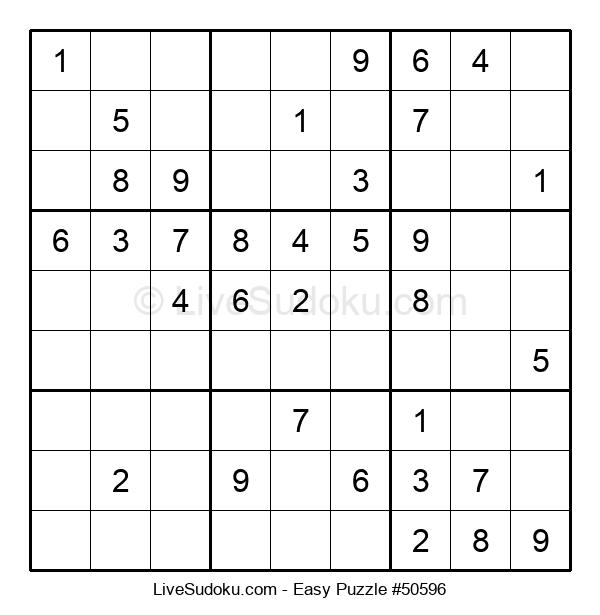 Beginners Puzzle #50596