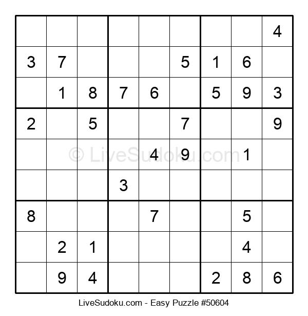 Beginners Puzzle #50604