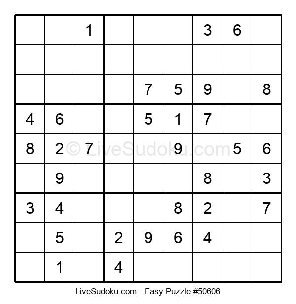 Beginners Puzzle #50606