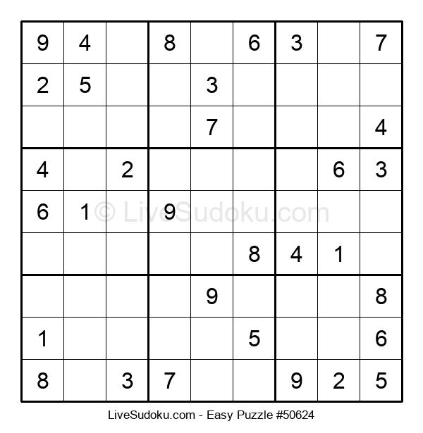 Beginners Puzzle #50624