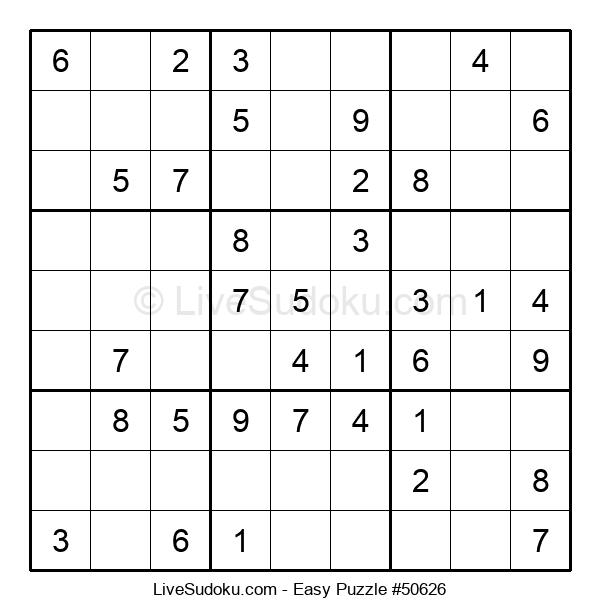 Beginners Puzzle #50626