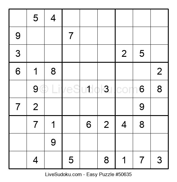Beginners Puzzle #50635