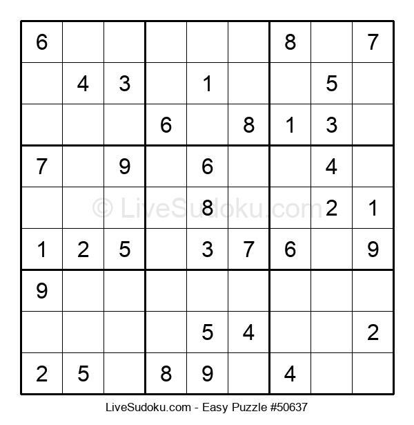 Beginners Puzzle #50637