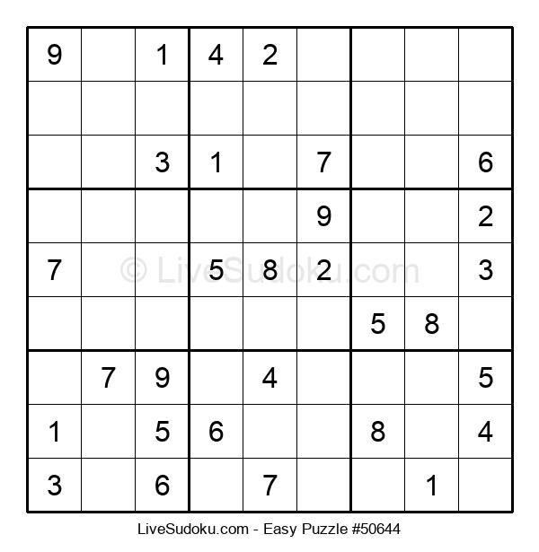 Beginners Puzzle #50644
