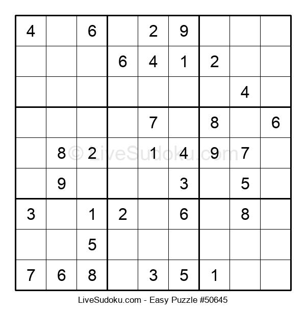 Beginners Puzzle #50645